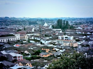 Popayan seen from the morro