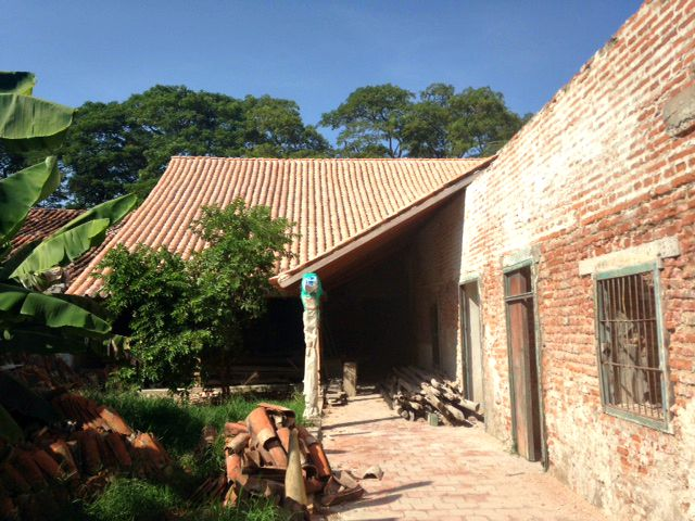 We estimate that we've done abou half of the rooftop restorations for Casa San Rafael or House No.3