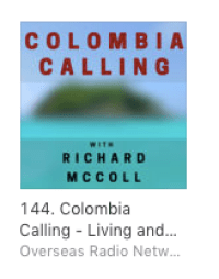 Colombia Calling radio is144 on iTunes