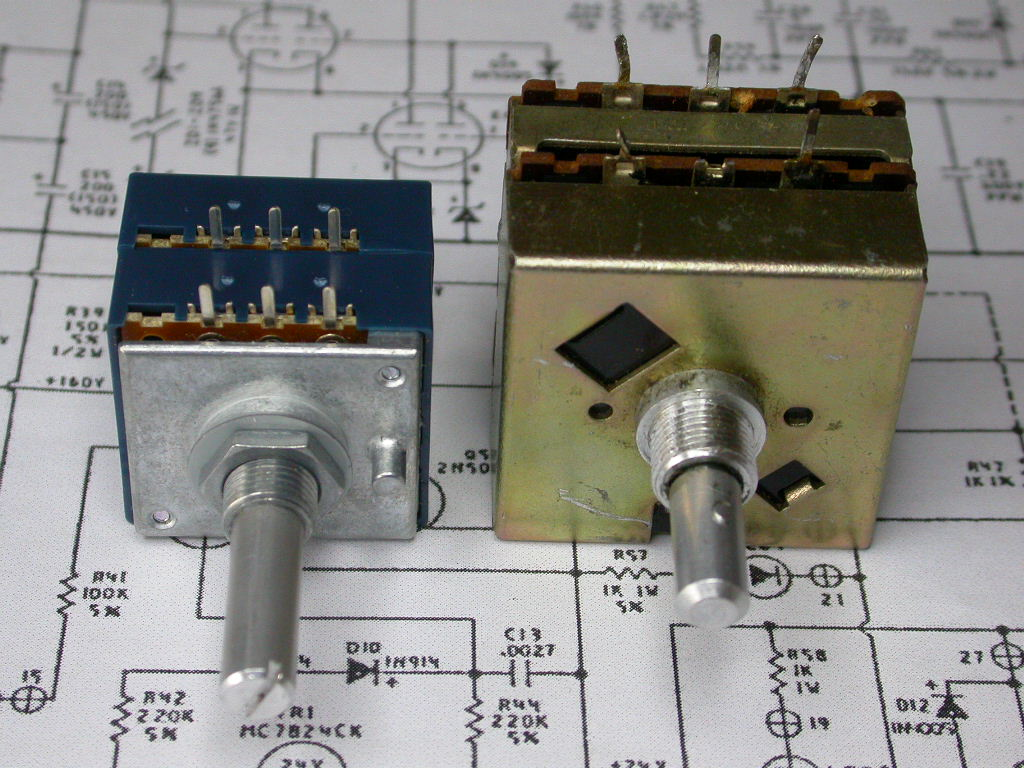 How To Replace The Volume Control On An Audio Research Sp8 Potentiometer Wiring Diagram