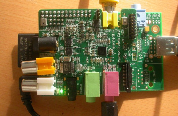 Testing the Wolfson Audio Board and Raspberry Pi – Richard
