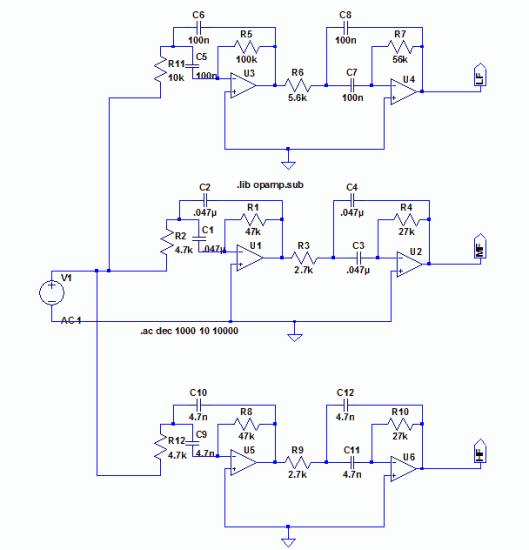filter bank schematic
