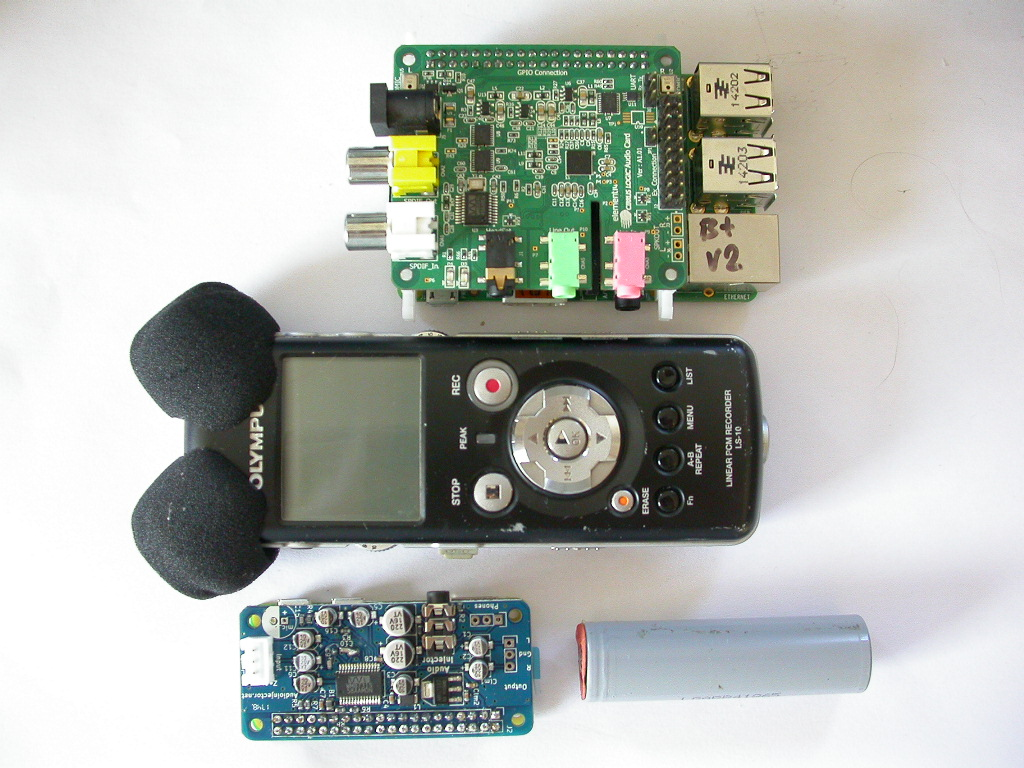 Raspberry Pi Zero Audio Recording With The Audioinjector Hat B Block Diagram Just When I Thought Remote Olympus Recorder Is Way To Go Here Along Comes A Promising New Solution For This Looks Be Low