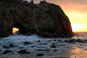 Sea Arch, Julia Pfeiffer Burns Beach, CA