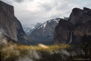 Clearing Storm, Bridalveil falls, Yosemite National Park, CA