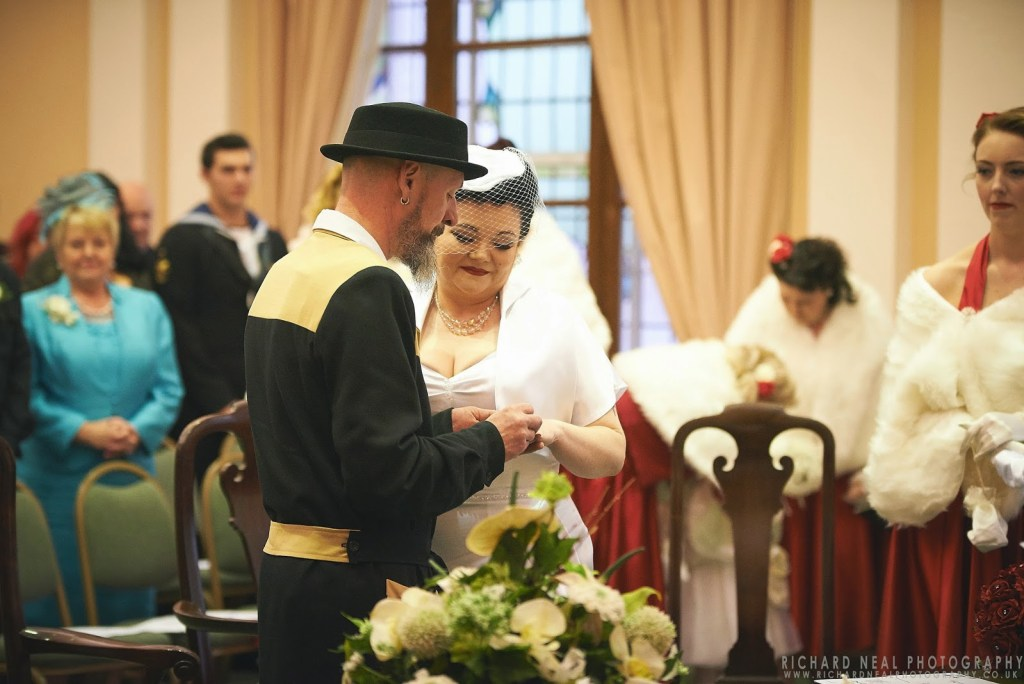 Rockabilly wedding - Tyneside wedding - South shields
