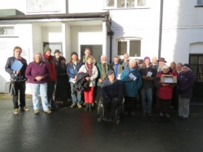 Green Party canvassing in Leominster