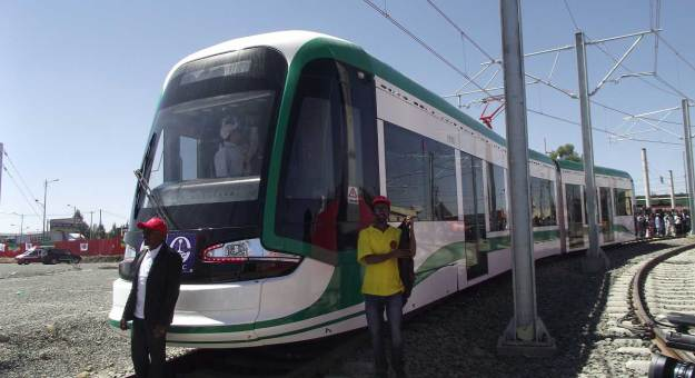Trams in Addis Ababa