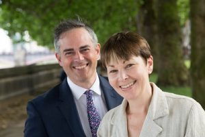 Jonathan Bartley & Caroline Lucus, Co-leaders of the Green Party