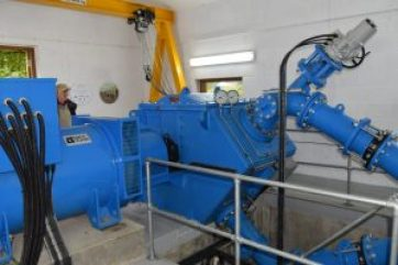 660KW hydro at Hafod Y Llan