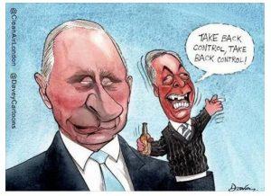 Farage: Putin's Puppet