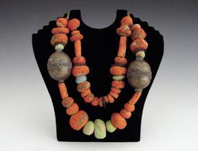 wood_orange_beaded_necklacegarth_clark_site