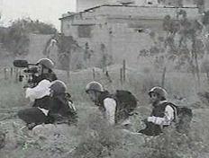 james miller filming in gaza