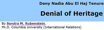 anti abu el haj website screenshot