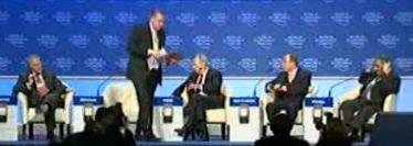 Turkish prime minister Erdogan walks out of Davos forum after Peres tongue-lashing