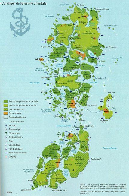 Eastern Palestine Archipelago (map: Julien Bousac)