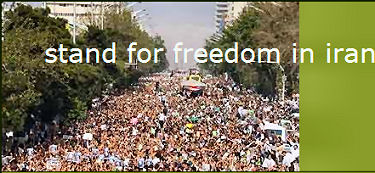 stand for freedom in iran