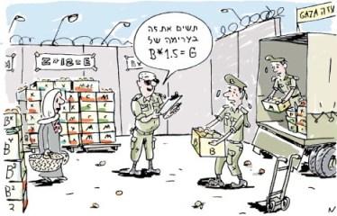 wolkowski gaza siege cartoon