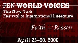 PEN Center World Voices festival