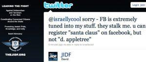 JIDF violates FB tos