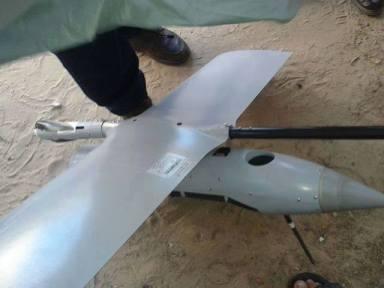 hacked israeli drone