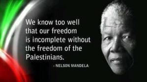 Mandela and Lessons for Israel-Palestine: from Armed Struggle to Political Transformation
