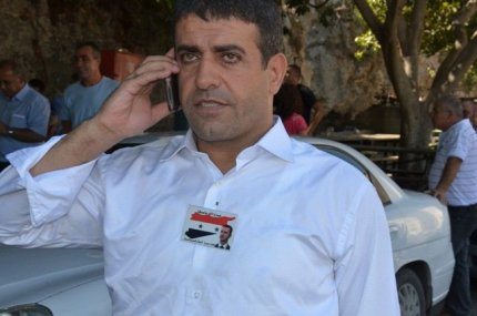 Sedki al-Maket, rearrested in secret by Israel's Shin Bet for exposing collaboration between Syrian rebels and the IDF