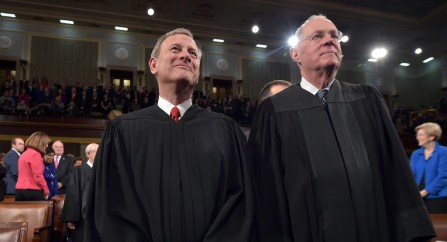 justices kennedy and roberts
