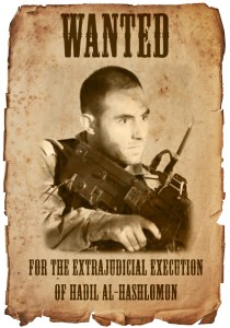 Wanted for War Crime: Killer of Hadil al-Hashlomon