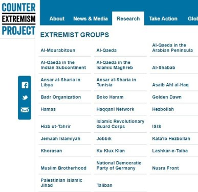 neocon terror list
