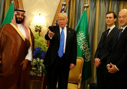 trump bin salman meeting