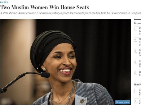 muslim women win house seats