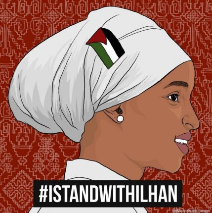 i stand with ilhan