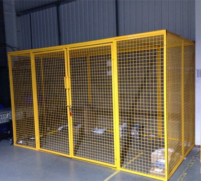 Walk In Mesh Box Cages Richardsons Shelving Racking