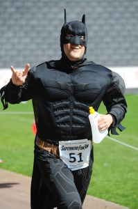 Milton Keynes Superhero Fun Run Winner