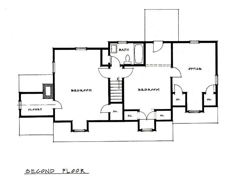 KC Bungalow Floor Plan 2 Richard Toyne Architect