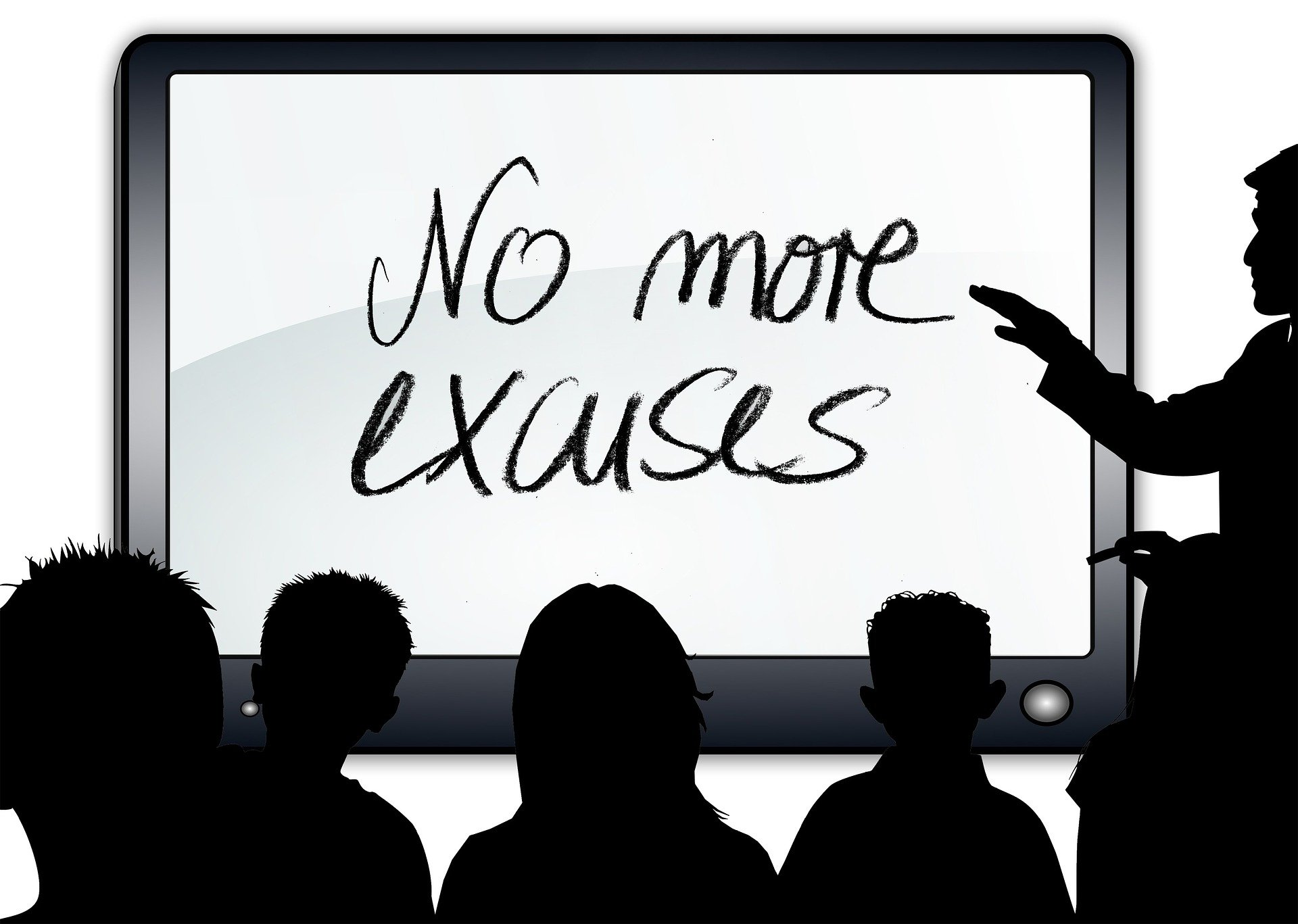 How To Outsmart Your Excuses To Become More Productive