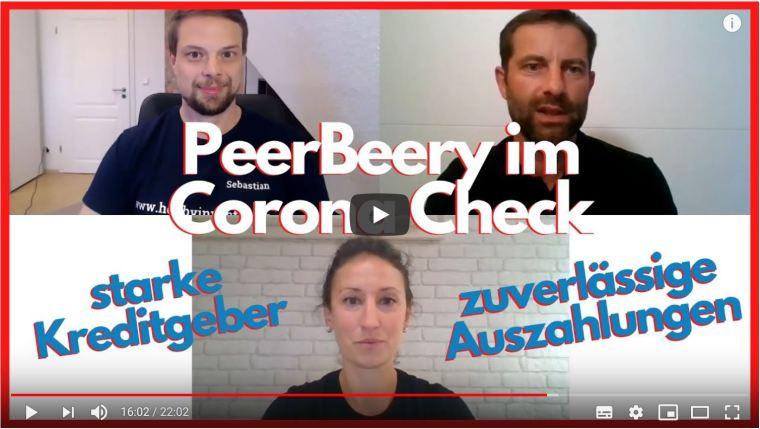 Wie die P2P-Plattform Peerberry in der Corona-Krise performed
