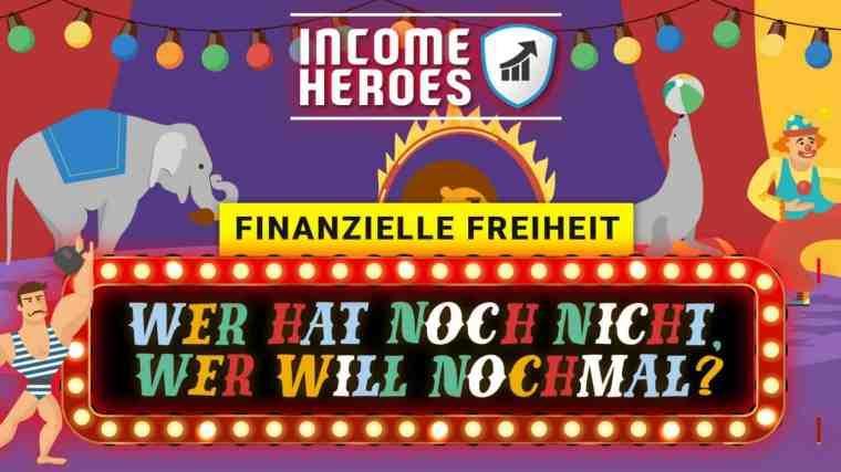 Helden der Finanziellen Freiheit durch passives Einkommen (Dividenden und Optionen)