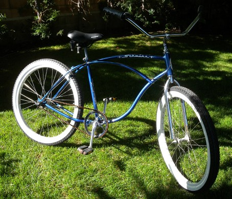 Restored 1980 Schwinn Typhoon Beach Cruiser