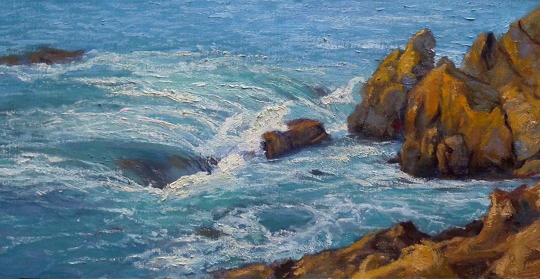 The Monterey Peninsula Coastline