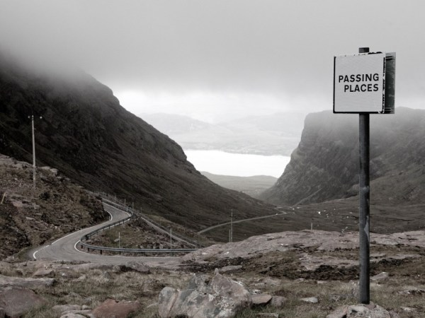 Passing Places. Bealach Na Ba