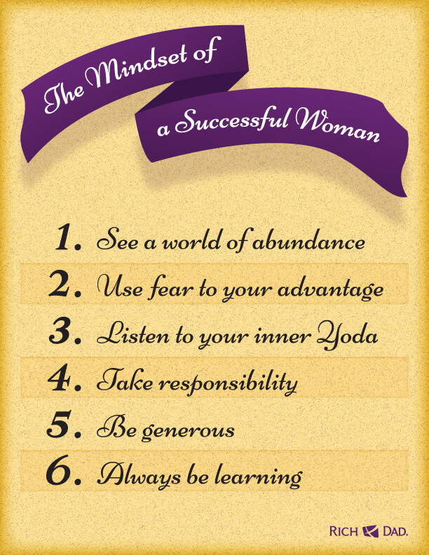 The Mindset of a Successful Woman