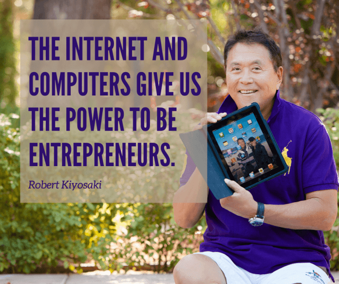 the internet and computers give us the power to be entrepreneurs.
