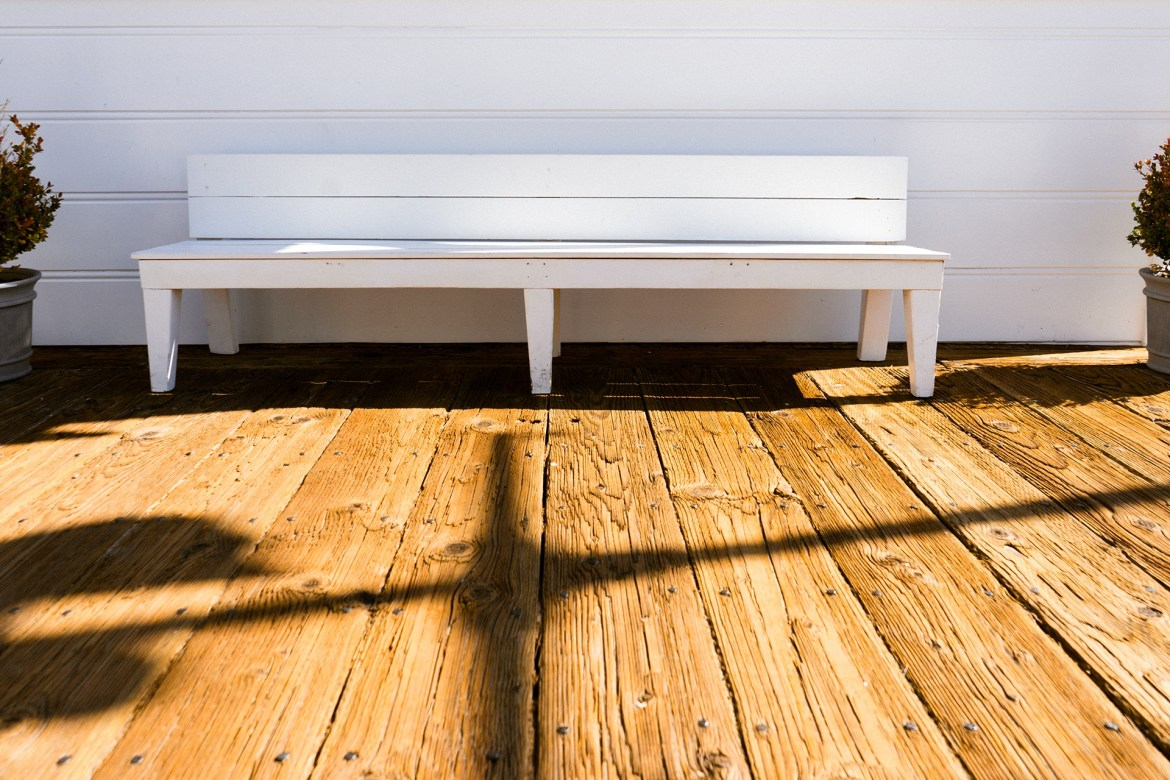 bench on deck