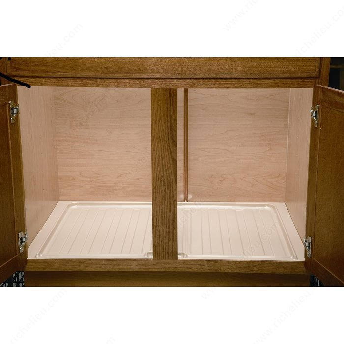 under sink cabinet protection tray