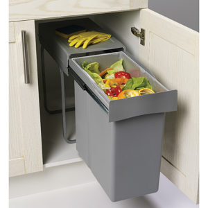 poubelles et centres de recyclage