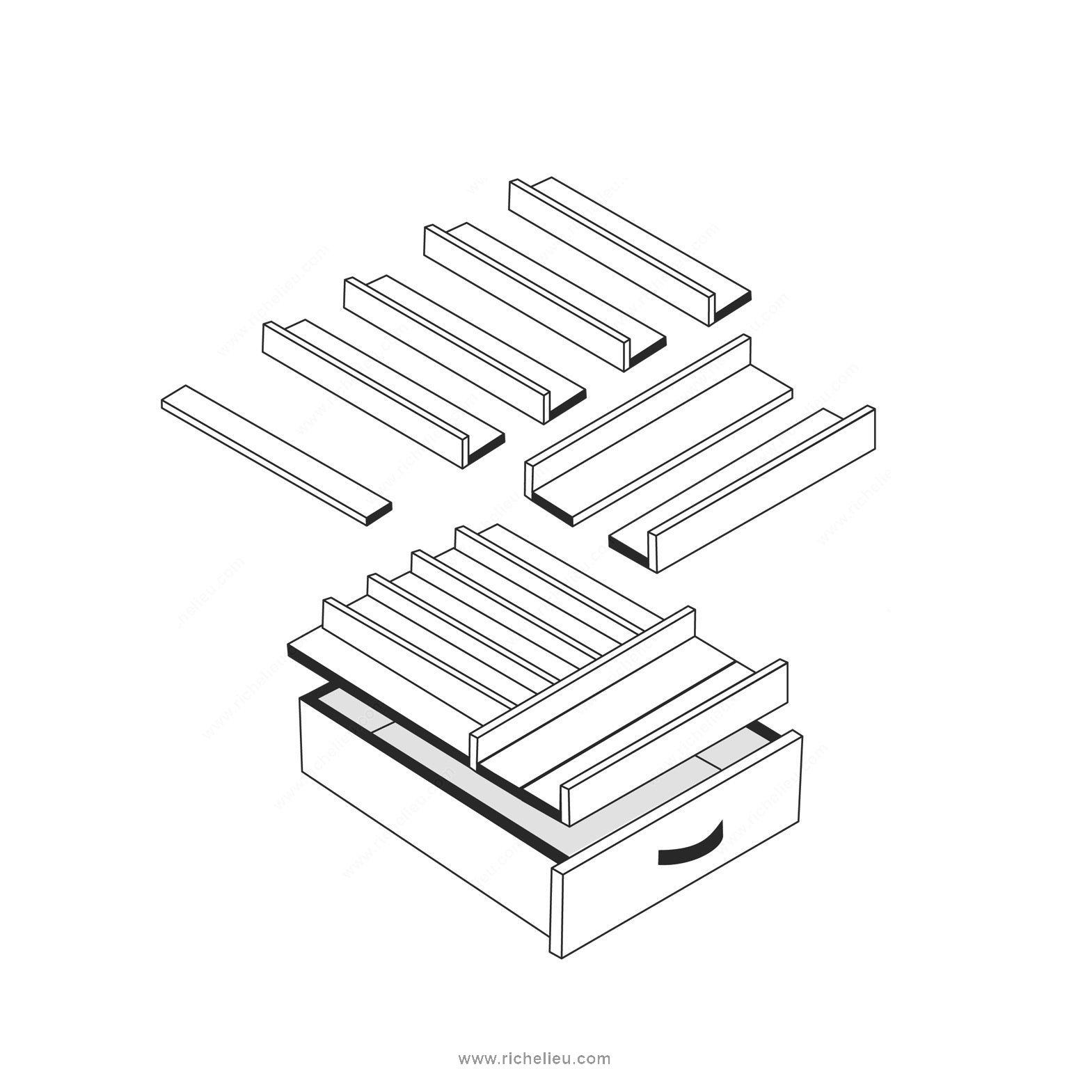 Universal Drawer Insert Set