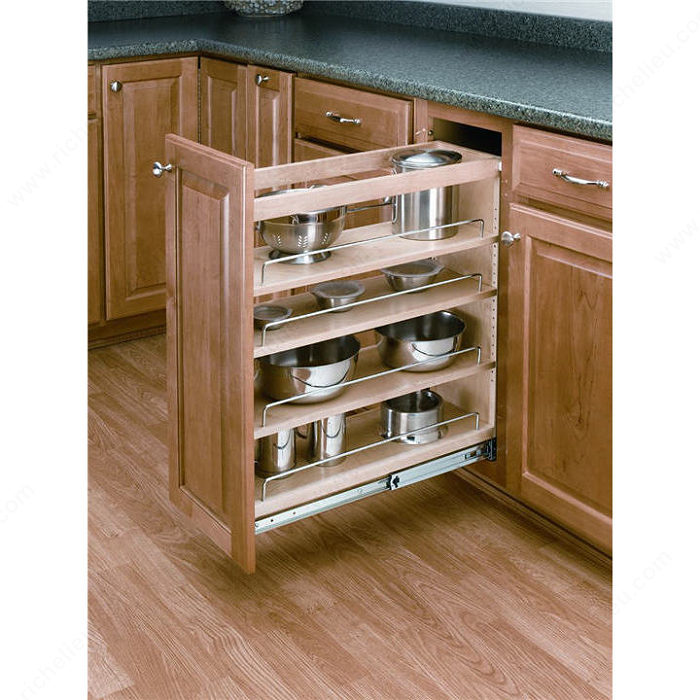 pull out organizer for base cabinet