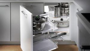 corner cabinet storage systems